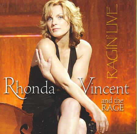RAGIN' LIVE BY VINCENT,RHONDA (CD)