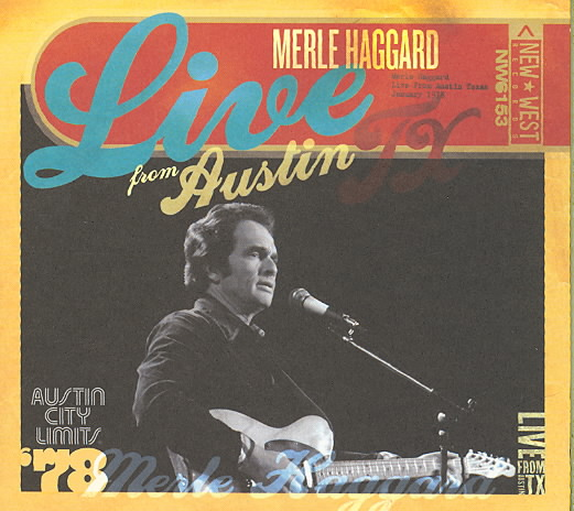 LIVE FROM AUSTIN TX BY HAGGARD,MERLE (CD)
